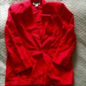 Vintage Prophecy Petite • Sag Harbor Blazer Jacket